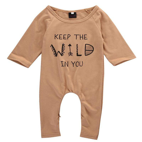 Wild One Graphic Romper