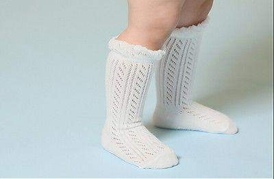 Soft Cotton Knit Pattern Baby Socks