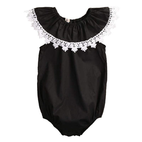 Victoria Off the Shoulder Baby Romper