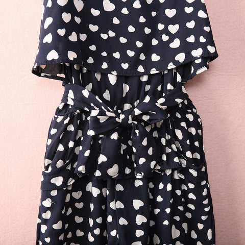 Spotted Girls Romper