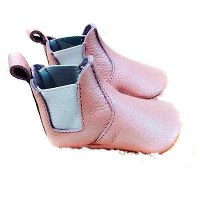 Little Leather Booties