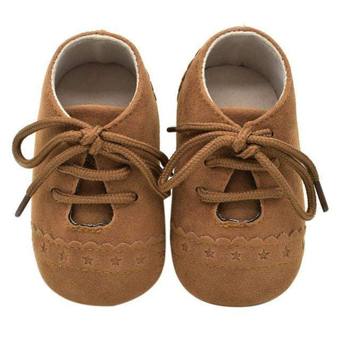 Lace Up Baby Shoes