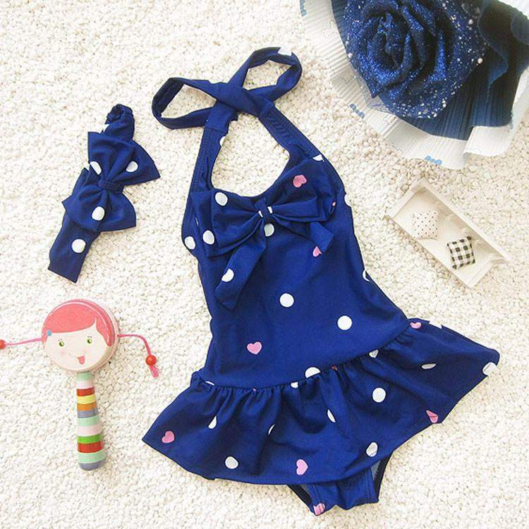 Ruffle Skirt Swimsuit
