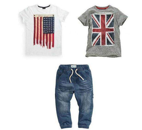 3pc Casual T and Pants Set