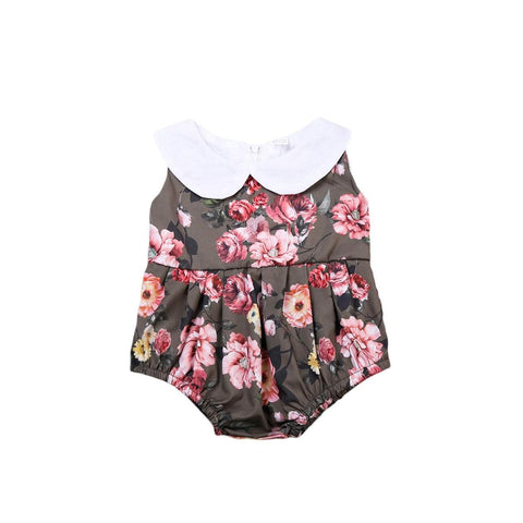 Peter Pan Color Rose Sunsuit