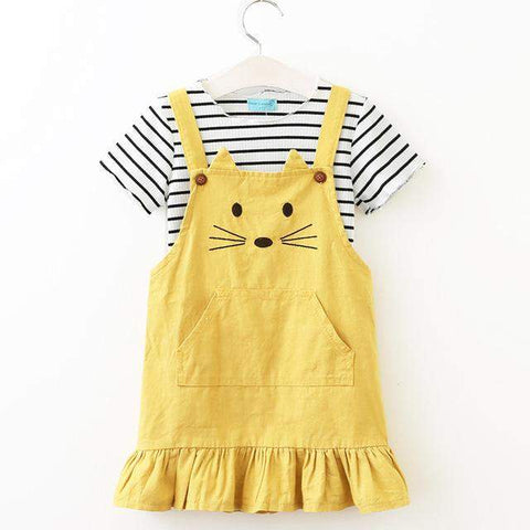 Meow Overall Outfit