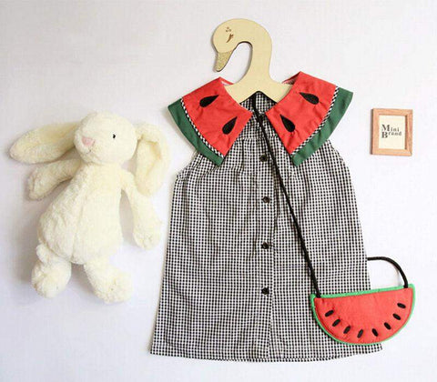 Watermelon Collar Dress