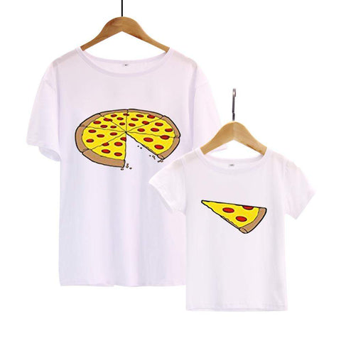Pizza Slice Daddy & Me Matching Shirts