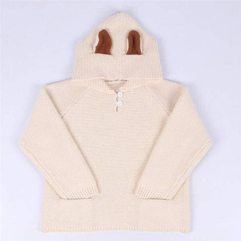 Rabbit Ear Hooded Sweatshirt