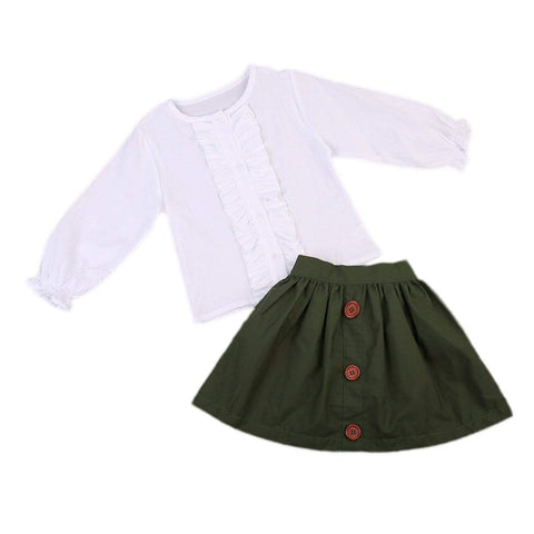Winchester Skirt & Shirt Set