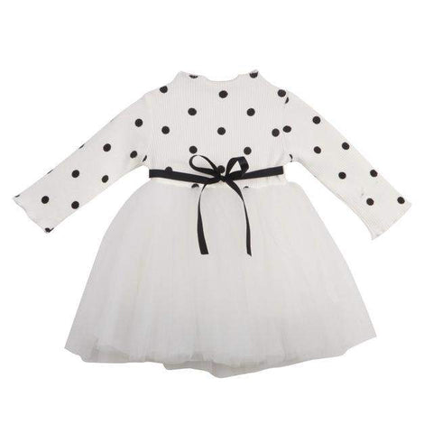 Polkadot and Tulle Dress
