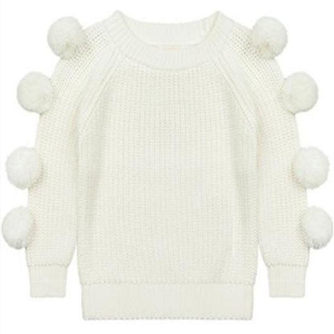 Lucille Pompom Sweater