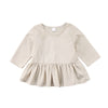 Addie Girl Peplum Shirt