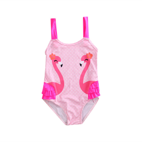 Kissing Flamingo Swimsuit