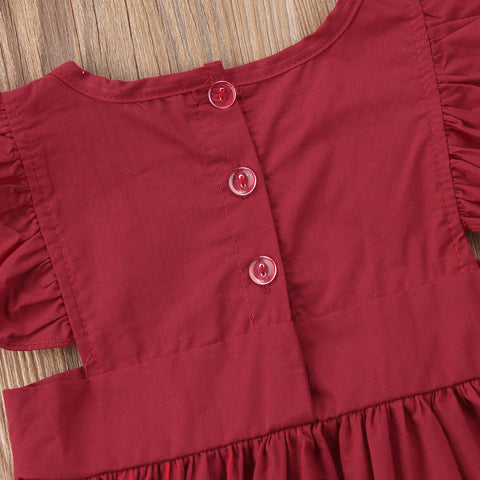 Cherry Apron Dress