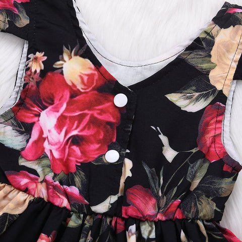 Floral Flair Dress