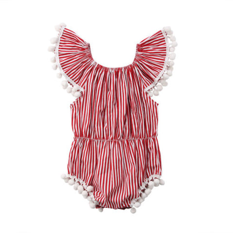 July Pompom Sunsuit