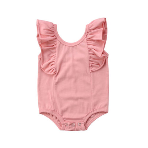 Blush Ruffle Sunsuit