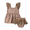 Abby Lace Ruffle Outfit Set