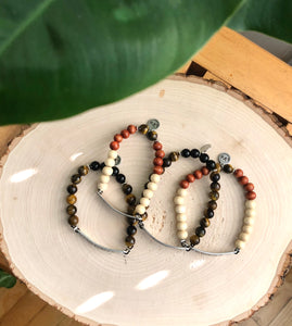 Mixed Bead Bracelet Set (2)