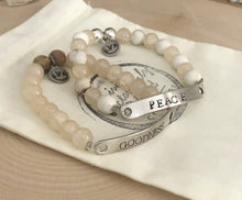 Load image into Gallery viewer, Custom Neutral Stretch Bracelet Set (2)