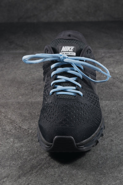 Oval Athletic Shoelaces - Sky Blue