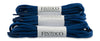 Oval Athletic Shoelaces - Navy Blue