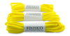 Oval Athletic Shoelaces - Neon Yellow