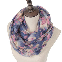 Tania Rose Printed Scarf - Hijab Accessories For Sale | Muslimaqueen