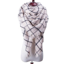 Theoris Plaid Scarf - Hijab Scarf For Sale | Muslimaqueen