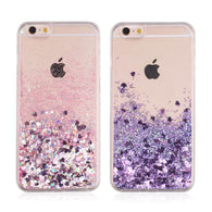 Glitter Love & Star iPhone Case - Hijab Phone Accessories | Muslimaqueen
