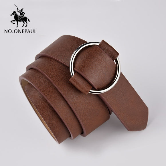 Metal Round Buckle Belt