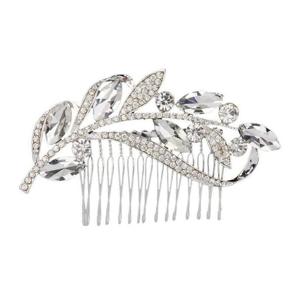 Alisha Leaf Style Hair Pin - Muslim Jewelry Specials | Muslimaqueen