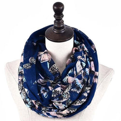 Shaimaa Butterfly Printed Scarf - Arabic Women Accessories | Muslimaqueen