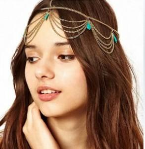 Hasana Gold Headband