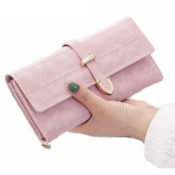Subira Leather Clutch Wallet - Women Wallet For Sale | Muslimaqueen