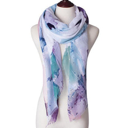 Andra Floral Scarf - Arabic Fashion Specials | Muslimaqueen
