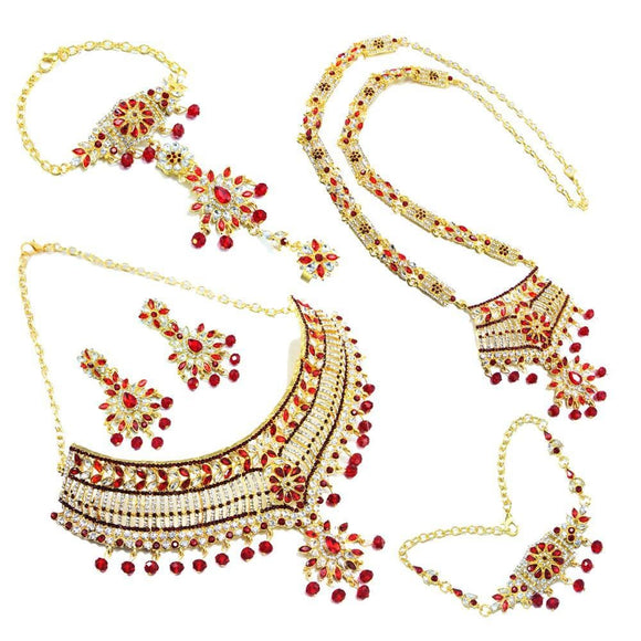 Zohana Arab Jewelry Set - Hijab Jewelry For Sale | Muslimaqueen