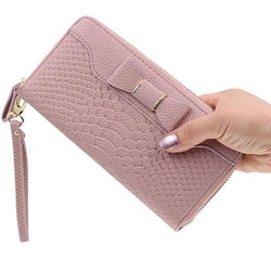 Taamira Leather Clutch Wallet - Hijab Accessories For Sale | Muslimaqueen