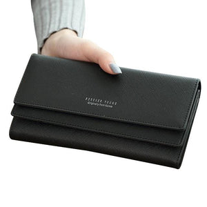 Dalia Bahar Long Wallet - Women Leather Wallet | Muslimaqueen