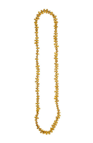 Plain Nugget Necklace - Yellow