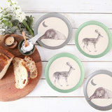 Love Mae 4pk Plates - Bear and Dear