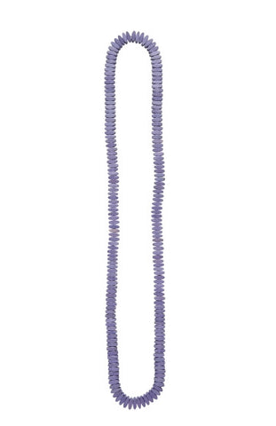 Pillow Bead Long Necklace - Viola