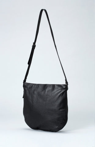 Nors Large Leather Bag - Black