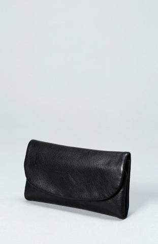 Nors Leather Wallet - Black