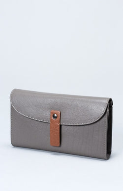 Falun Wallet - Tan/ Grey