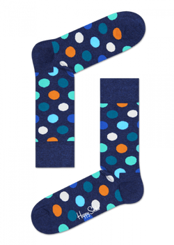Big Dot Sock Navy