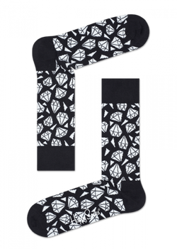 Diamond Sock Black
