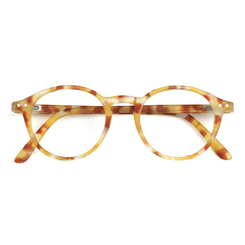 Let Me See Collection D Reading Glasses - Yellow Tortoise
