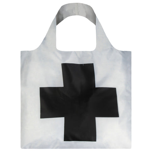 LOQI Shopping Bag Museum Collection - Black Cross